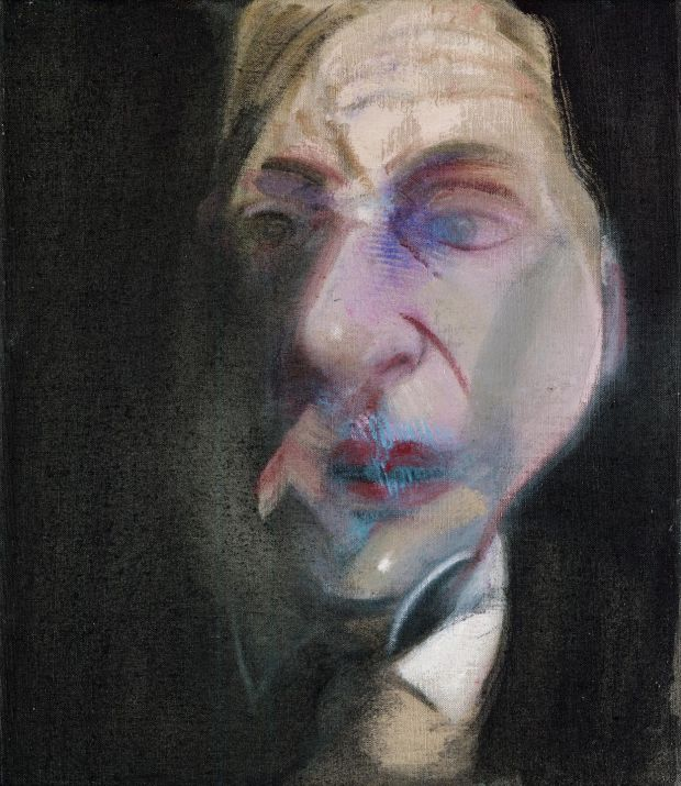 Francis Bacon, Study for Self Portrait, 1979 (c) the Estate of Francis Bacon