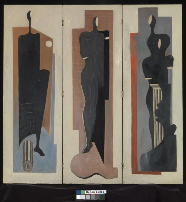 Francis Bacon, Painted Screen c1930 (c) The Estate of Francis Bacon