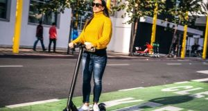 A new Road Traffic Bill will legislate for e-transport for the first time, including e-scooters. File photograph