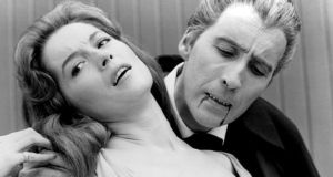 Barbara Shelley and Christopher Lee in Dracula: Prince of Darkness (1966), which 'traumatised and tantalised' generations of viewers. Photograph: Everett/Rex
