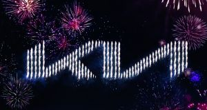 Kia unveiled its new logo last week in a major fireworks and drone display in Seoul