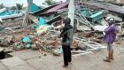 Eyewitness footage shows aftermath of Indonesia earthquake