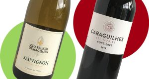 Wines for the weekend: Châtelain Desjacques Sauvignon Blanc and Caraguilhes Les Jardins Corbières