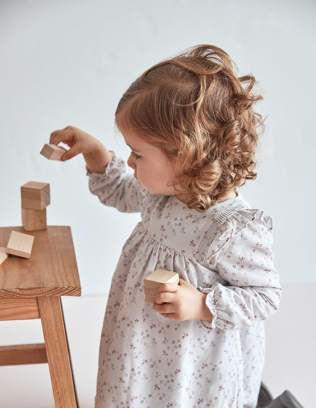 Juju corduroy dress by Knot now €30 at sonnybear.ie.