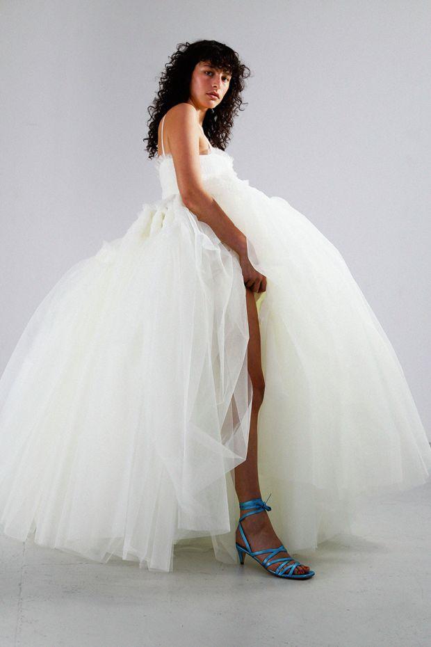 The Simona bridal dress from Molly Goddard.