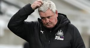 "Newcastle manager Steve Bruce: ""But, like I say, the gloves are off now. I'm going to do things the way I see fit. We'll do it my way."" Photograph:   Scott Heppell/PA Wire"