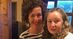 Meabh Quoirin with Nóra. The 15-year-old, who had learning difficulties, had been on a family holiday at the Dusun resort when she went missing. Photograph: Family handout