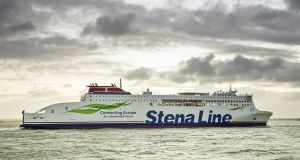 Stena Line said its ferry the Estrid will operate the new weekend service from Dublin to Cherbourg. Photograph: Stena Line