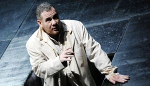 Paul McNamara performing in Wagner's Tannhäuser at Würzburg opera house in 2009. File photograph
