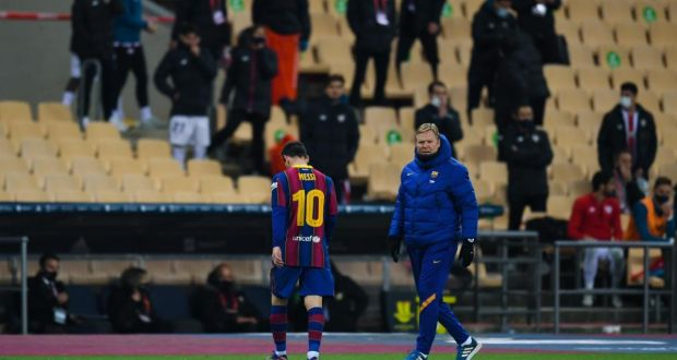 Lionel Messi Handed A Two-Game Ban By The Spanish Football Federation's Competition Committee