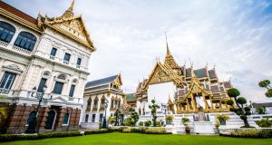 The Grand Palace, Bangkok, the residence of the Thai monarchy. Photograph: Getty Images