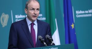 Taoiseach Micheál Martin wants European languages to be taught across all primary schools in light of Brexit. Photograpg:  Julien Behal Photography