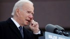 Biden quotes James Joyce in emotional farewell to Delaware