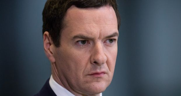 Former British chancellor of the exchequer George Osborne. File photograph: Matt Cardy/PA Wire