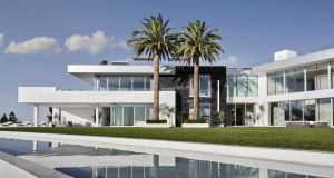 The 105,000 sq ft, 21-bed superhome in Los Angeles was designed by Dubliner Paul McClean.