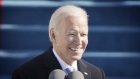 Joe Biden emphasises unity in first speech as president of the US