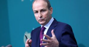 Taoiseach Micheál Martin: 'No country has more to gain than we have from positive and stable European Union-United Kingdom relations.' Photograph: Julien Behal/Handout/EPA