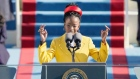 'There is always light' young poet delivers powerful message at inauguration