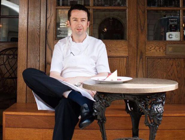Irish chef Aidan McGee