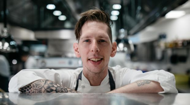 Mike Tweedie, head chef at the Oak Room at Adare Manor.