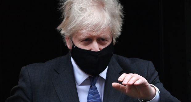 British prime minister Boris Johnson has been accused of 'insulting' the EU. Photograph: Andy Rain/EPA