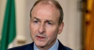 Taoiseach Micheál Martin  confirmed that the Government was looking at additional travel and quarantine restrictions due to concerns about emerging variants of the disease. Photograph: Julien Behal