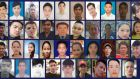 Handout photo issued by Essex Police of the 39 people who  died in the truck.  Photoraph: Essex Police/PA Wire
