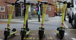 Zipp operates a fleet of 450 e-scooters in Britain and is planning on launching services locally once legislation is passed allowing them on Irish roads