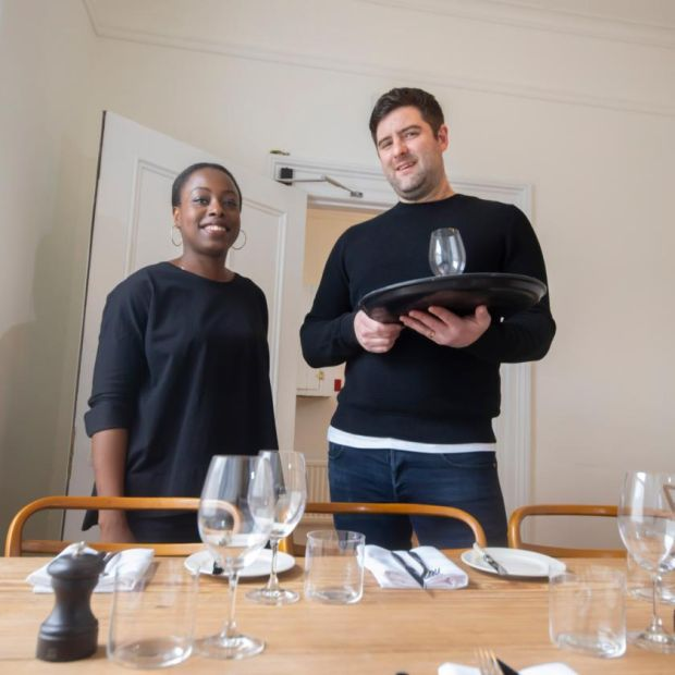 Michelin award? Jumoke Akintola and Peter Hogan of Beach House, in Tramore. could win a Bib Gourmand. Photograph: Patrick Browne