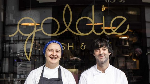 Michelin awards 2021: Aishling Moore of Goldie (with Stephen Kehoe of the Market Lane Group) specialises in fin-to-tail fish cookery
