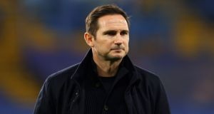 "Frank Lampard: ""I love the fact that if there are tough times you can fight your way out of them.  Photograph:   Richard Heathcote/PA"