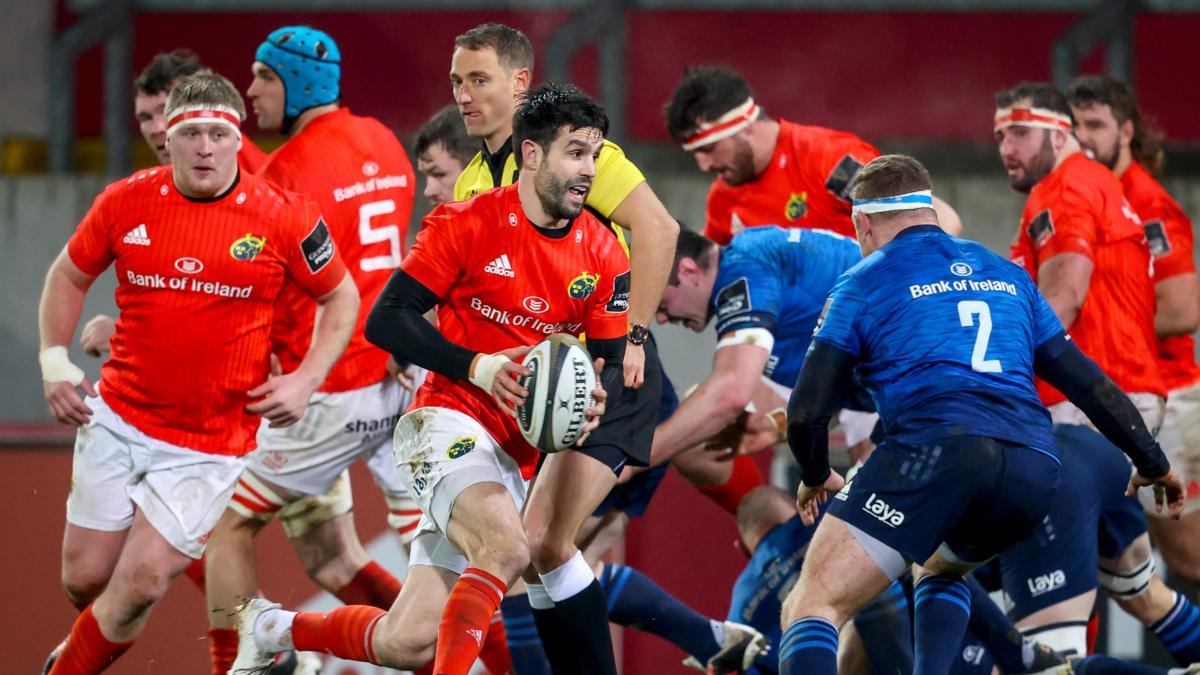 LIVE Pro14: Munster v Leinster