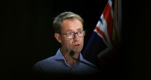 Director-general of health Dr Ashley Bloomfield: We are working under the assumptions that this is a more transmissible variant. Photograph: Hagen Hopkins/Getty Images