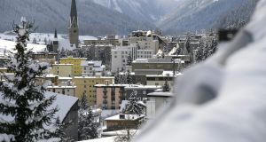Oxfam's The Inequality Virus report was published to coincide with the opening day of the 51st World Economic Forum, normally held in the Swiss Alpine town of Davos, but which is taking place online this year. File photograph: Fabrice Coffrini/AFP/Getty Images