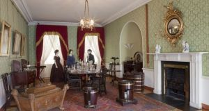 The diningroom in the Georgian House Museum. Photograph: ESB