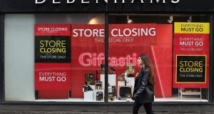 Moves underline how online players have gained the upper hand over traditional bricks-and-mortar clothing retailers. File photograph: Paul Ellis/AFP via Getty