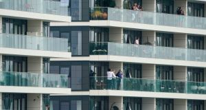 While the cost of building certain apartments had come down in recent years, reflecting changes to the design guidelines, the report said affordability remains 'a huge challenge'. Photograph:   Alan Crowhurst/PA Wire