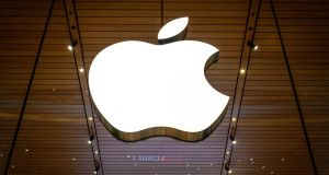 Apple's profit margins are projected at about 23 per cent. Photograph:  Mladen Antonov/AFP via Getty