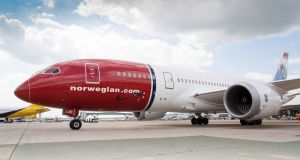 Norwegian hopes to emerge from the Irish examinership in April, after which it could initially fly up to 53 aircraft, depending on how Covid-19 travel restrictions hit bookings. Photograph: PA