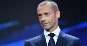 Aleksander Ceferin is optimistic fans will be able to attend Euro 2020 matches. Photo: Harold Cunningham - UEFA/UEFA via Getty Images
