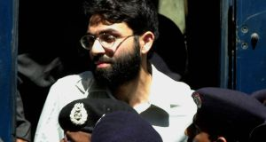 Ahmed Omar Saeed Sheikh: on death row since his conviction for the death of Pearl in 2002. Photograph: Zia Mazhar/AP