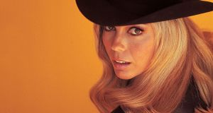 Start Walkin': Nancy Sinatra's new collection spans solo releases, rarities and classics from her first two albums with Lee Hazlewood. Photograph: Ron Joy/courtesy Boots Enterprises