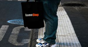 GameStop shares doubled in pre-market trading on Friday after a wild ride of a week. Photograph: The New York Times