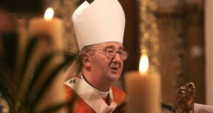 The archbishop 'faced many challenges in administration and necessary changes', the President said. Photograph: The Irish Times/Dara Mac Dónaill