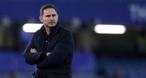 Frank Lampard: simply lacked the coaching experience to take on the role  at one of the world's biggest clubs. Photograph:  Matthew Childs/PA