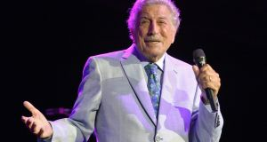 Tony Bennett is preparing to release another album of duets with Lady Gaga, following 2014's Cheek to Cheek, recorded between 2018 and 2020 as he began to suffer from the illness. File photograph: Joseph Prezioso/AFP via Getty