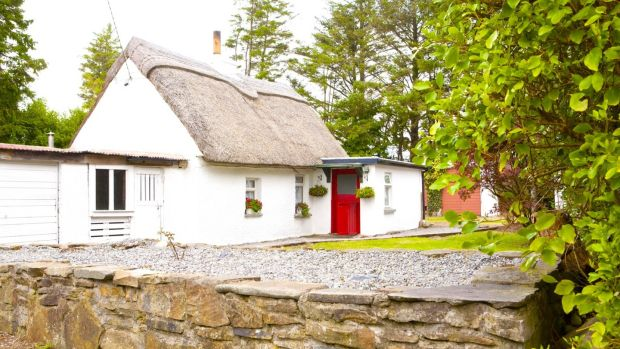 This pretty cottage is located about 6km outside the village of Athea, Co Limerick.