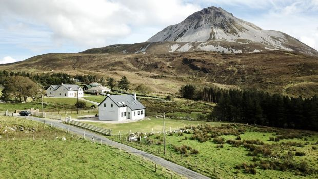 Errigal House overlooks Dunlewey, and is just minutes off the R251.