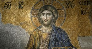 An image of Christ in the Aya Sofya, Istanbul. Getty Images