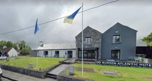 The Burren College of Art was the host school and Rhode Island School of Design arranged housing at the Burren Atlantic Hotel and Holiday Village. Image: Google Maps